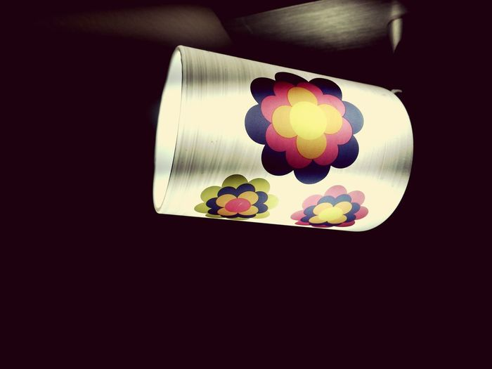 Multi Colored Indoors  No People Close-up Innovation Lamp Lamplight Ledlight LED Light Prilblumen 70er Hippiestyle Hippie Style Hippie Life Led Lampe Energiesparlampe Energie