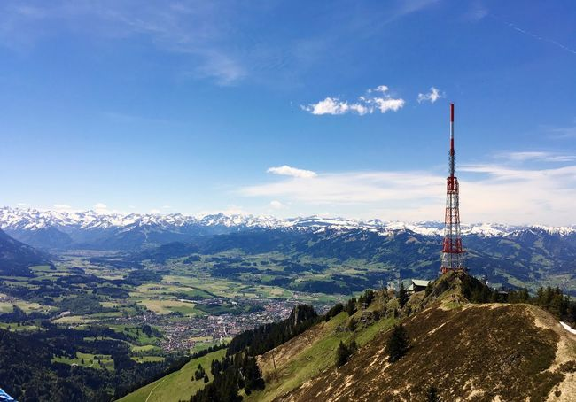 The Great Outdoors - 2016 EyeEm Awards Allgäu Check This Out Hanging Out EyeEm Best Shots Check This Out! Enjoying Life EyeEm Nature Lover Grünten The Essence Of Summer Feel The Journey Original Experiences Showcase June A Bird's Eye View Landscape Landscape_Collection Allgäuer Alpen Allgaeu Oberstdorf & Umgebung Sky The Alps Outside Photography Outdoors Mountain EyeEm Nature Lovers