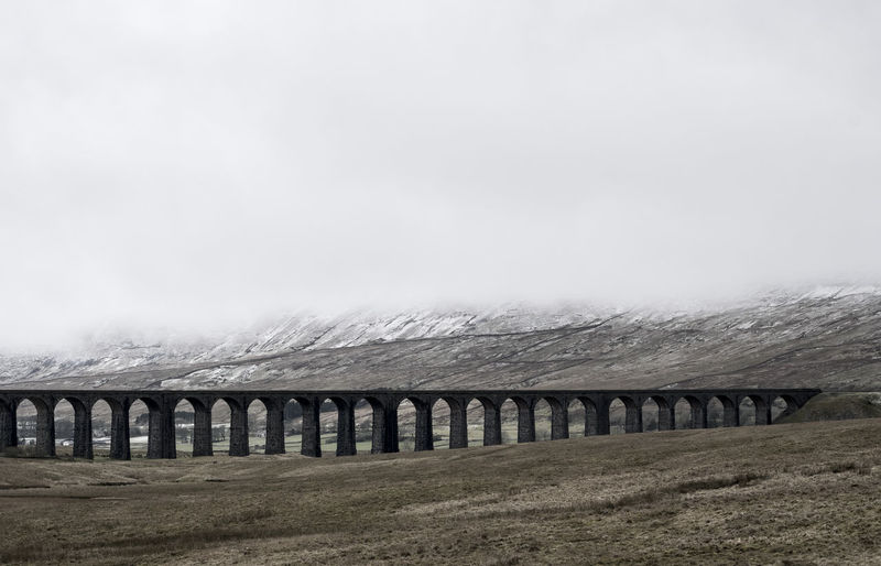Arch Bridge - Man Made Structure Built Structure Connection Nature Ribblehead Viaduct Transportation Viaduct Yorkshire Dales
