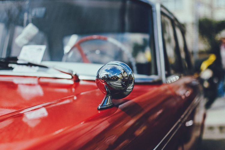 Gettin' classic   Classic Car Open Edit Enjoying Life Speedfest Reflection Red Vintage From My Point Of View Streetphotography Fresh On Market 2018