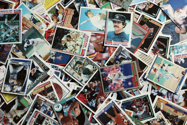 Backgrounds Baseball Baseball - Sport Baseball Cards Basketball Basketball - Sport Basketball Cards Cards Collection Colorful Colors Full Frame Looking Down Many Messy Old Phillies Scattered Sport Sports Vintage Yankees Lieblingsteil EyeEm Diversity Art Is Everywhere Break The Mold Sommergefühle EyeEm Selects