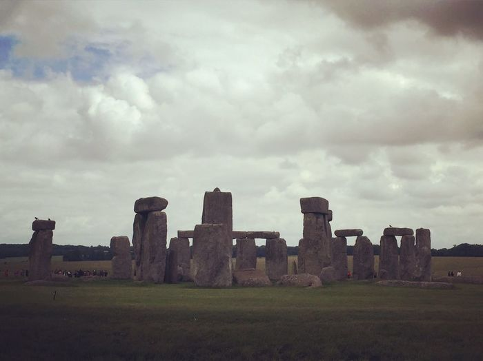 History Sky Monument Travel Destinations Ancient Civilization Architecture Beauty In Nature Stonehenge Prehistoric Piedras England Uk