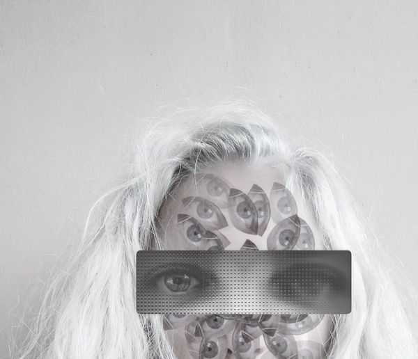 Eye sight Surrealism Surreal Edit Close-up Studio Shot Adult Human Body Part Adults Only Portrait People Indoors  Only Women One Woman Only One Person Young Adult Day Inner Power Visual Creativity The Creative - 2018 EyeEm Awards The Portraitist - 2018 EyeEm Awards