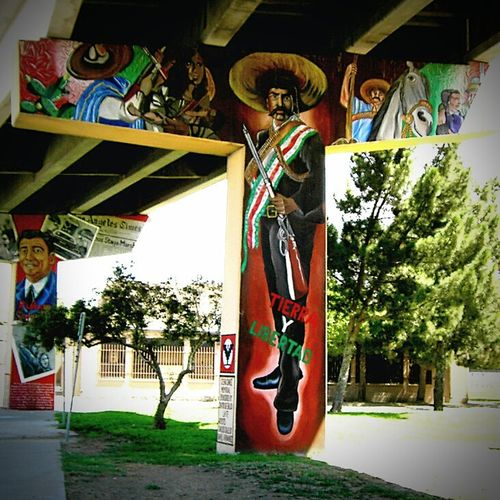 Mural Walking Around The City  My City Bridge View Street Art/Graffiti Discover Your City Mural Art Wall Murals Beautiful Art Colorful City