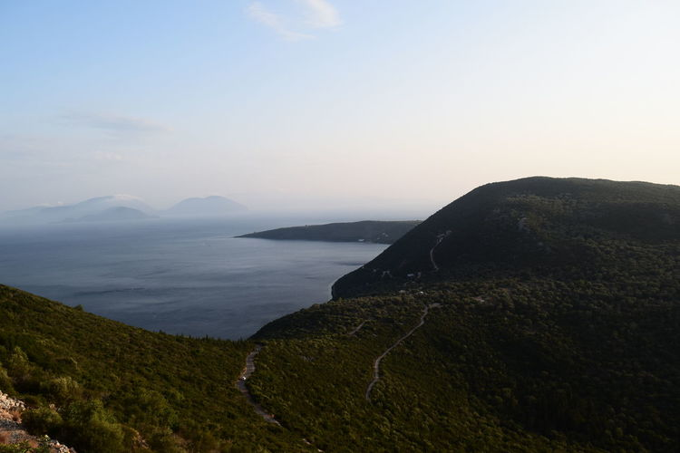 Mediterranean  View Day Greece No People Scenics Sea Sky Tranquil Scene