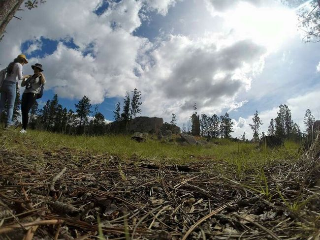 Clouds And Sky Hiking Crazy Horse Traveling GoPro Hero3+ Unaltered On Vacation Amzingview On Vacation!