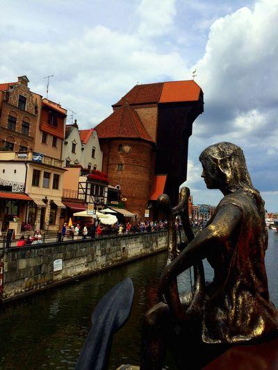 The Crane Gdansk Oldtown Poland