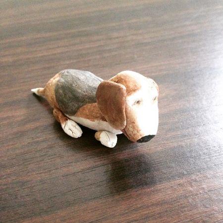 Handmade Handcraft Creation Animal Animal_collection Beagle Beaglelovers Ilovemydog Clay My Hobby