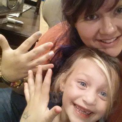 Ty-chi and I have matching nails!! Lovethisprincess Girltime  Nails