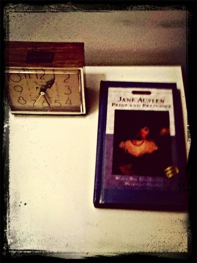 Jane Austen Book  Good Book Clock