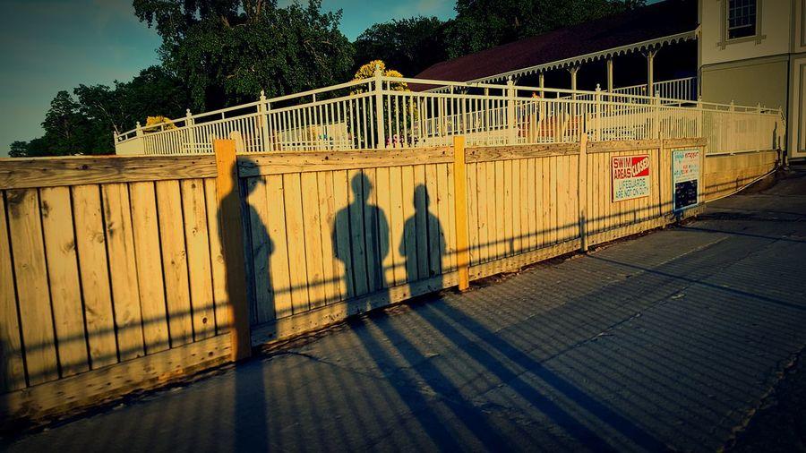 Shadows on the