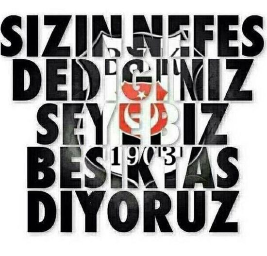 Besiktas Siyahbeyaz Beşiktaşk
