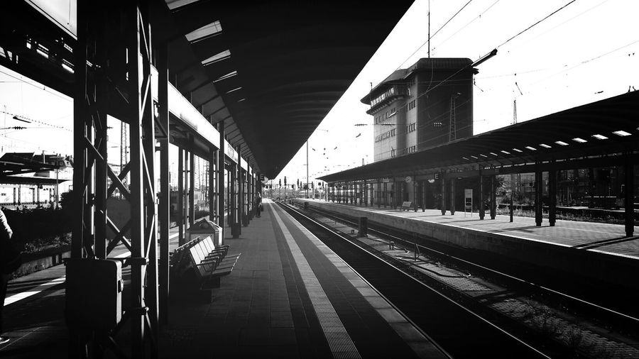 Frankfurt Hauptbahnhof Gleis 9 Commuting Hauptbahnhof Frankfurt Am Main