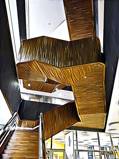Wood - Material Architecture Office Building Spiral Staircase Steps And Staircases Steps Spiral Stairs Stairs Staircase