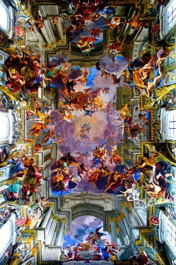 St Peters Basilica Rome Vatican Italy Painting Art Sistine Chapel  Michaelangelo