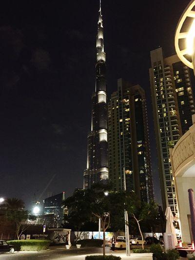 Night Walk DXB Dubai Burj Khalifa Downtown Dubai Iphonephotography