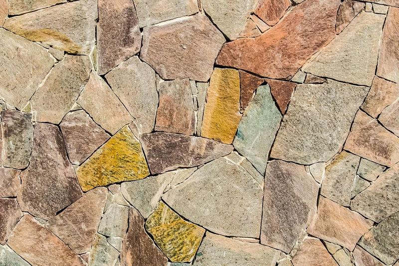 Full frame shot of cracked stones
