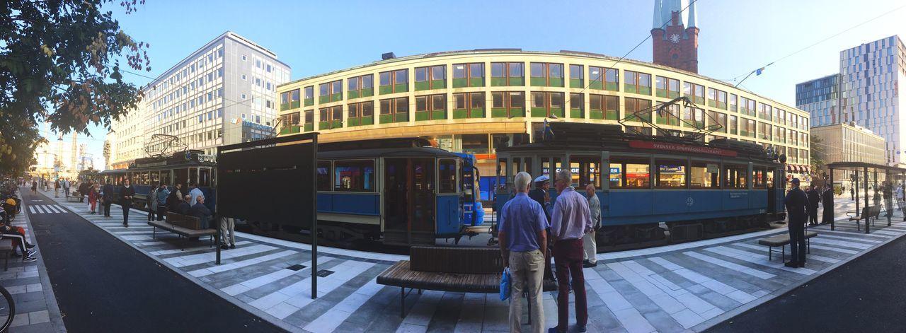 Museum Opening Klarabergsgatan Trams