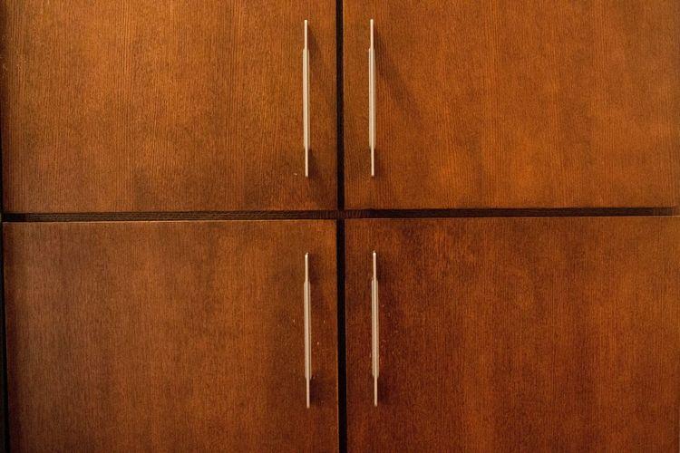 Full frame shot of closet