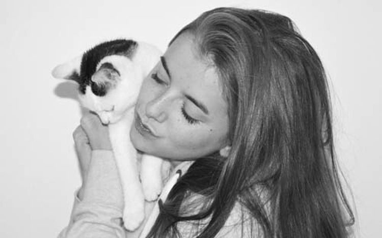 Love my daughter with our Pussycat Cats Of EyeEm Littlethingsinlife Hugging Blackandwhite Black And White Loveislove Simplicity From My Point Of View Nothing Really Matters then Lovelovelove Emotions Connected With Nature Teenager Girl Youth Of Today