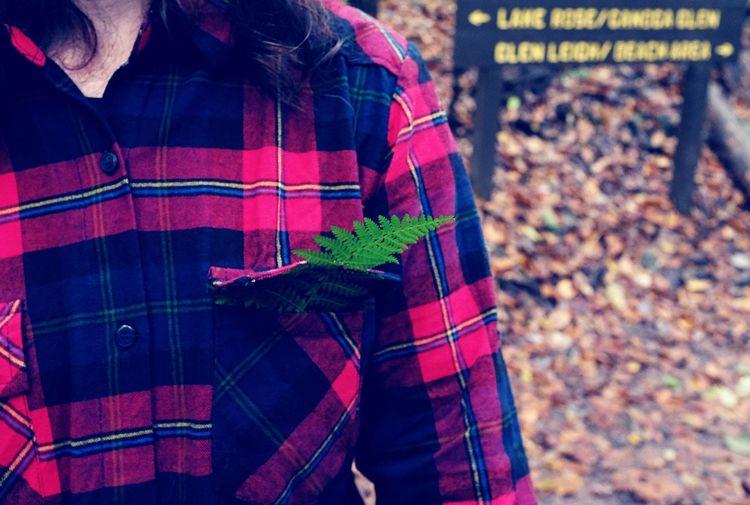 Fern Pocket  Hiking Portrait Portraiture Fujifilm Style Nature Fall Autumn Cultures Plaid