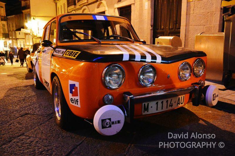 Classic Car Renault8 Rally Car Nikon Nikon D3200