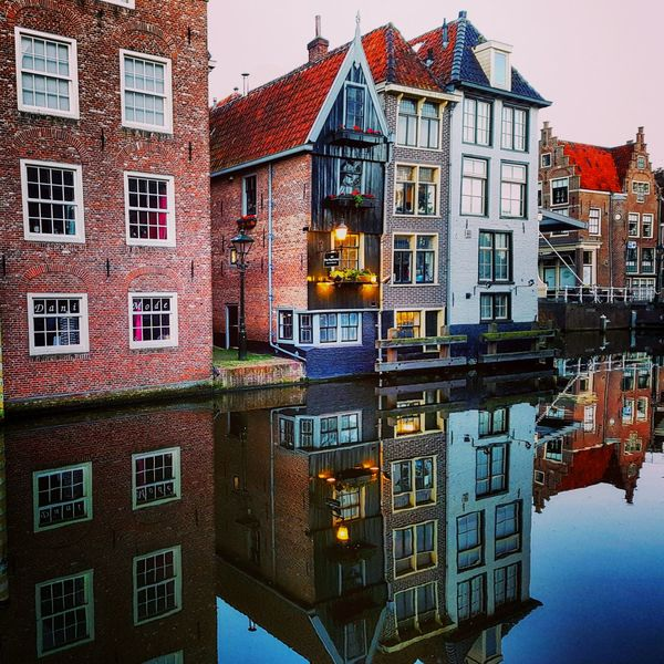 Building Exterior Architecture Window House Built Structure Outdoors No People Water City Dutch Dutch House Dutch Houses Reflection Canals Cityscape The Architect - 2017 EyeEm Awards