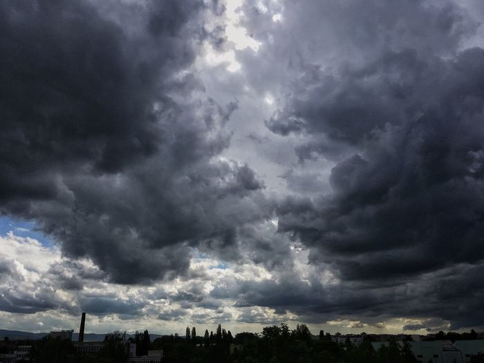 Cloud - Sky Sky Weather Storm Cloud Dramatic Sky Atmospheric Mood Nature Storm Cloudscape No People Beauty In Nature Scenics Silhouette Ominous Tranquility Tree Outdoors Thunderstorm Day Tornado
