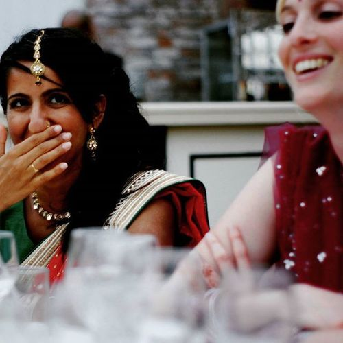 Naz. Up to mischief. Standard. Guestphotography Weddingguests Wedding photography Moments Comedymoments
