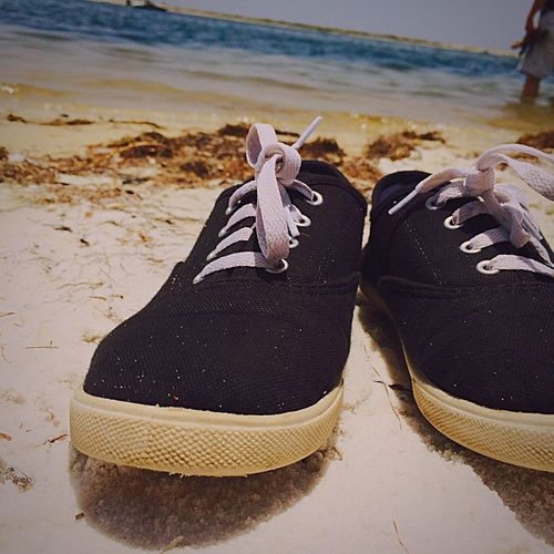 Something old Shoes Beach Beauty
