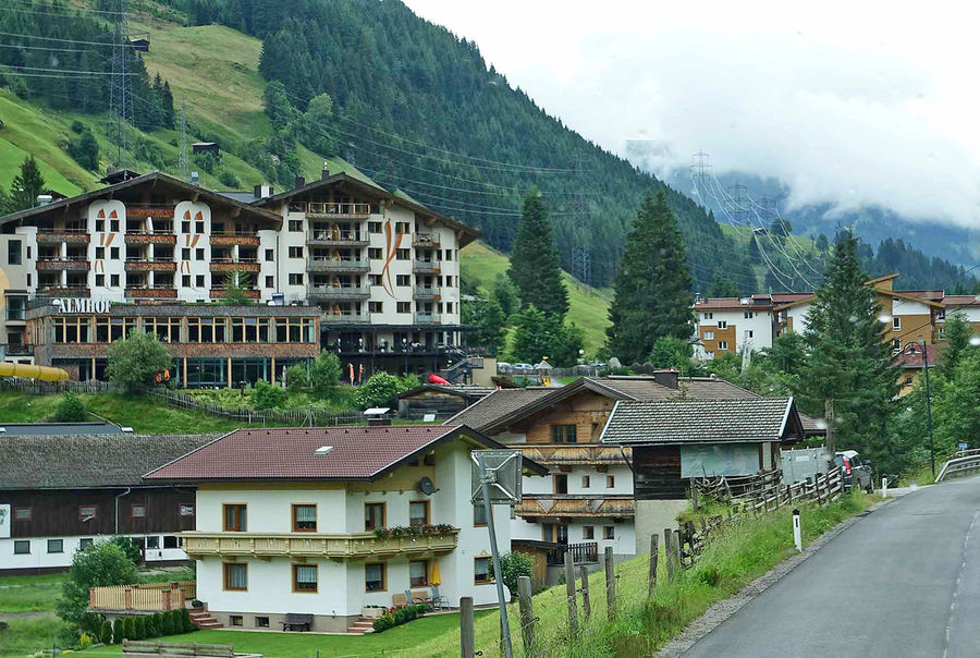 A Taste Of Germany Alpine Village Bavarian Landscape Germany Photos Architecture Building Exterior Built Structure City Day House Mountain Nature No People Outdoors Residential Building Road Scenics Sky Snow Tree Alpine Hotels Colour Your Horizn