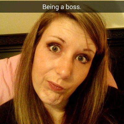 Haha I love snapchat!! Boss