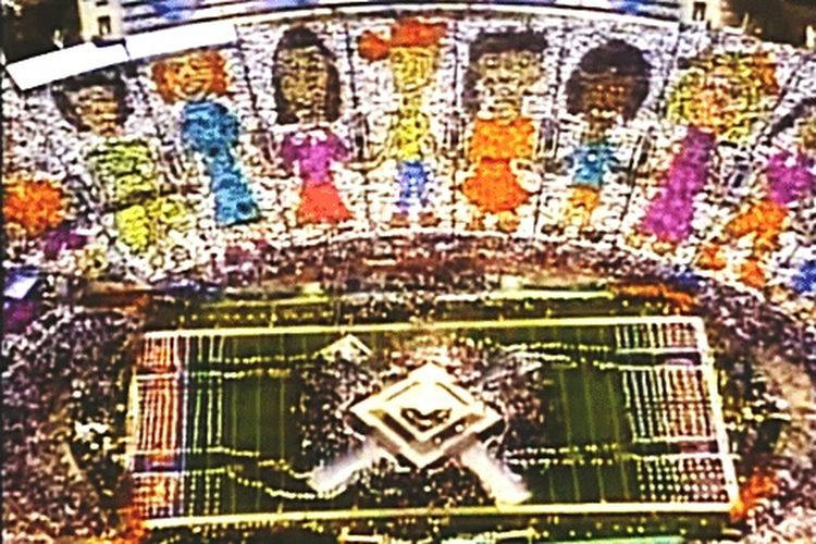 We are the world, we are the children.... Michael Jackson Superbowl1993