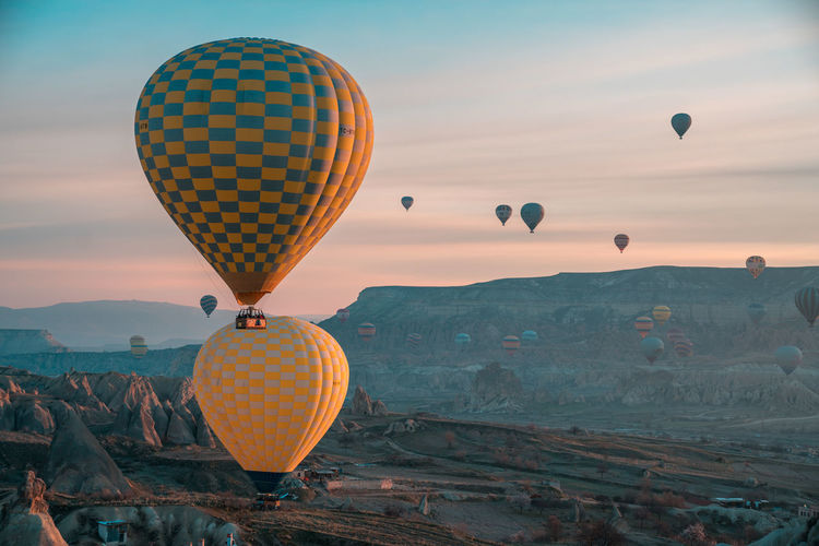 magical takeoff Bucketlist Cappadocia Turkey Hot Air Balloon Tourism Travel Destinations