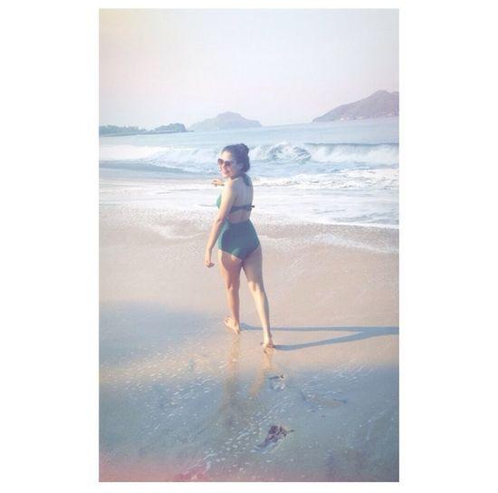 That's Me Sexy Girl Running Summer #beach