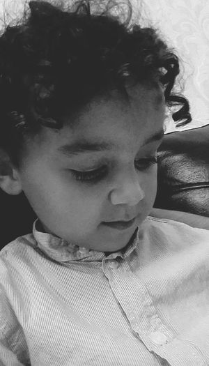 My Cousin Sweet Child Relaxing Blackandwhite