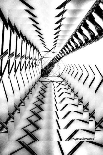 To infinity & beyond! EyeEm Best Shots - Black + White Bw_collection EyeEmBestEdits Power Lines