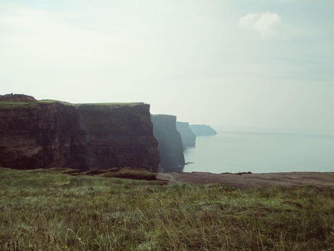 Beauty In Nature Cliff Cliffs Of Moher  Horizon Over Water Ireland Landscape Scenics Sea Travel Destinations The Great Outdoors - 2016 EyeEm Awards