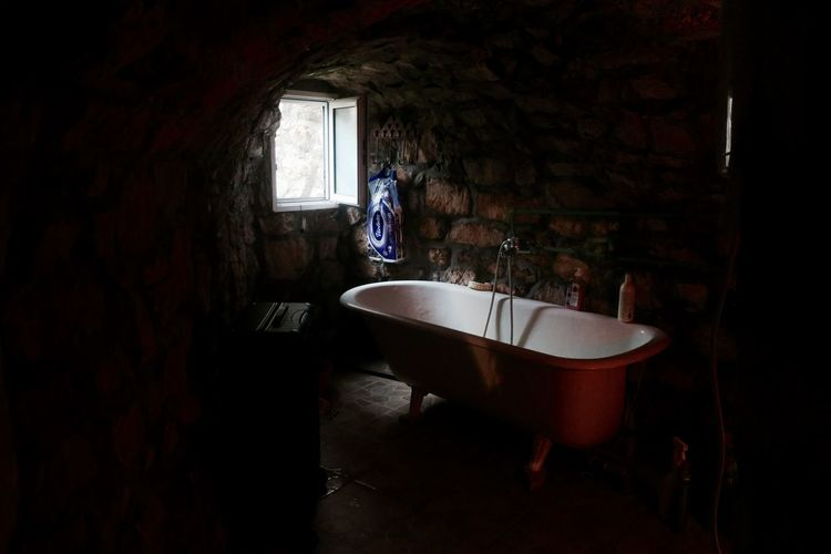 Abandoned Adult Architecture Day Domestic Bathroom Domestic Room Full Length Indoors  Lifestyles One Person People Real People Standing Week On Eyeem Women