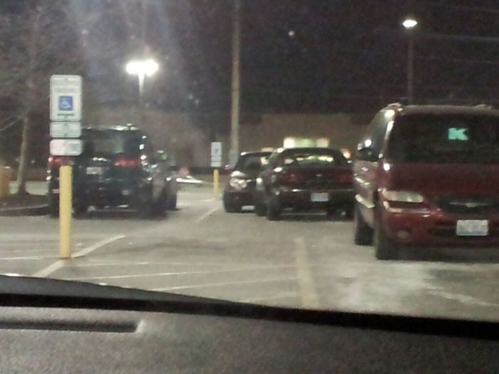 almost all blak ppl can park this one obviously cant