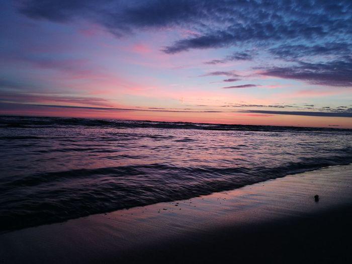 Cloud - Sky Water Wave Sand Sky Nature Beach Sea Sunset Landscape Nice Beauty In Nature Beautiful Poland HuaweiP9 Huawei P9 Leica Sky Beautiful Colors Naturelovers Nice Day EyeEmNewHere Freshness Wonderful Horizon Nofilter