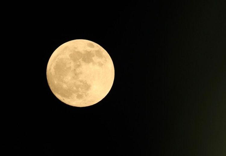 Night Space Astronomy Sky Moon Full Moon Planetary Moon