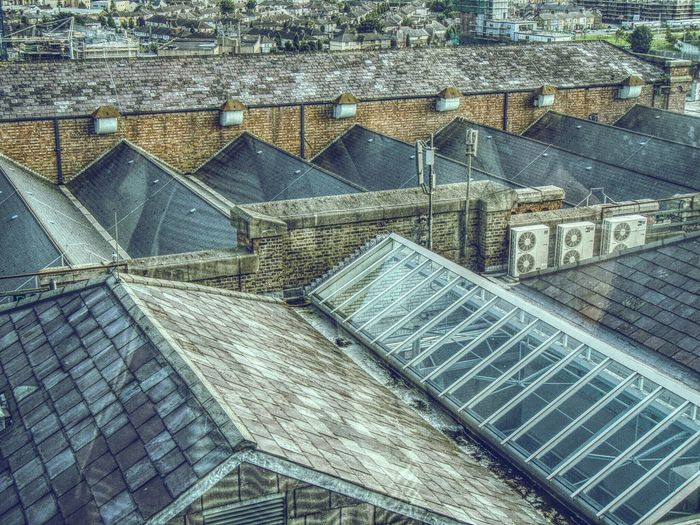 Dublin Rooftops POV from Guiness Brewery EyeEm Dublin From The Rooftop The Architect - 2015 EyeEm Awards Pattern Pieces Cgk Photography