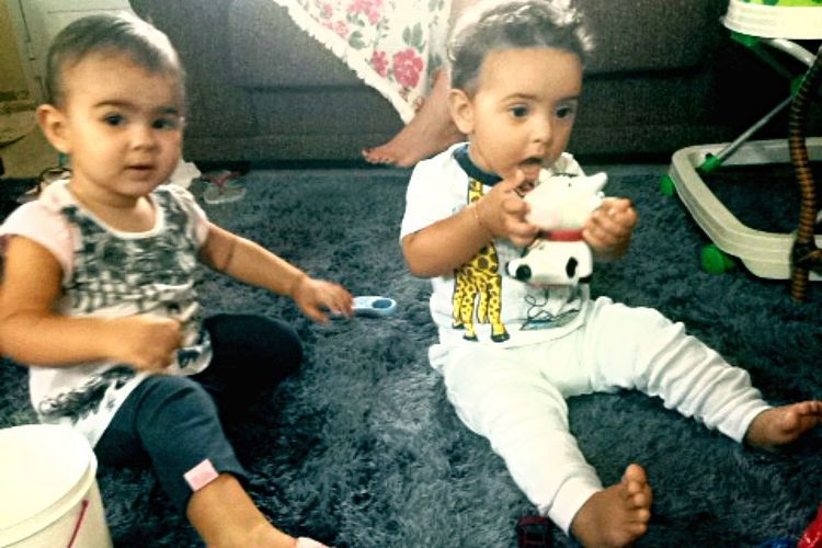 Babys Love Cute Cousin Vicente Isabelli My2Loves<3
