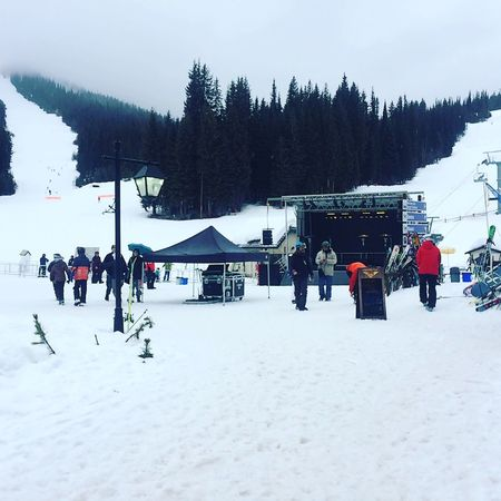 Busy day at Sunpeaks ski resort! Cold Temperature Winter Snow Tree Weather Real People Nature Outdoors Sky Day Leisure Activity Mode Of Transport Beauty In Nature Field Men Large Group Of People Scenics Ski Holiday Ski Lift