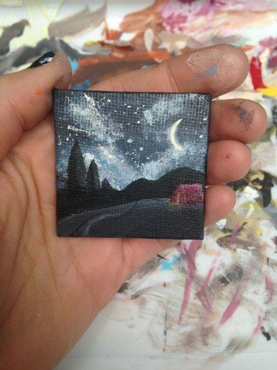 Tiny Art Painting