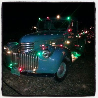 Classiccars and Christmaslights BestShitEver