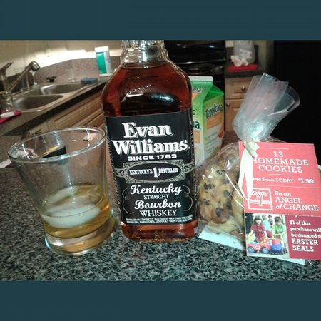 Whisky and cookies nothing better Lol Whisky EvanWilliams Liquar