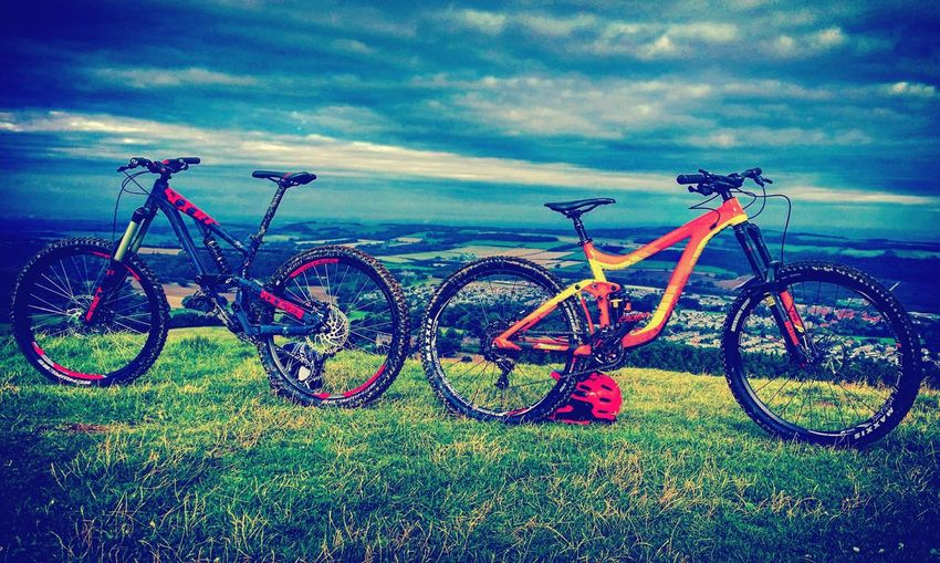 Beauty In Nature Horizon Over Water Downhill/ Freeride Scottmtb Giantbikes Reign Freeride