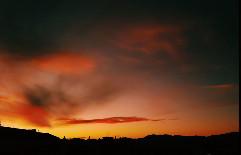 I woke up this afternoon and I saw this beauty outside of my window.. Silhouette No People Night Red Outdoors Sunset Scenics Beauty In Nature Nature Mountain Sky Forest Fire Lost In The Landscape Samsung Galaxy S6 Edge Fine Art Photography Canon 5d Mark Iv GREECE ♥♥ Summer Exploratorium